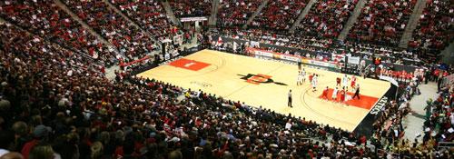 Cox Arena Basketball