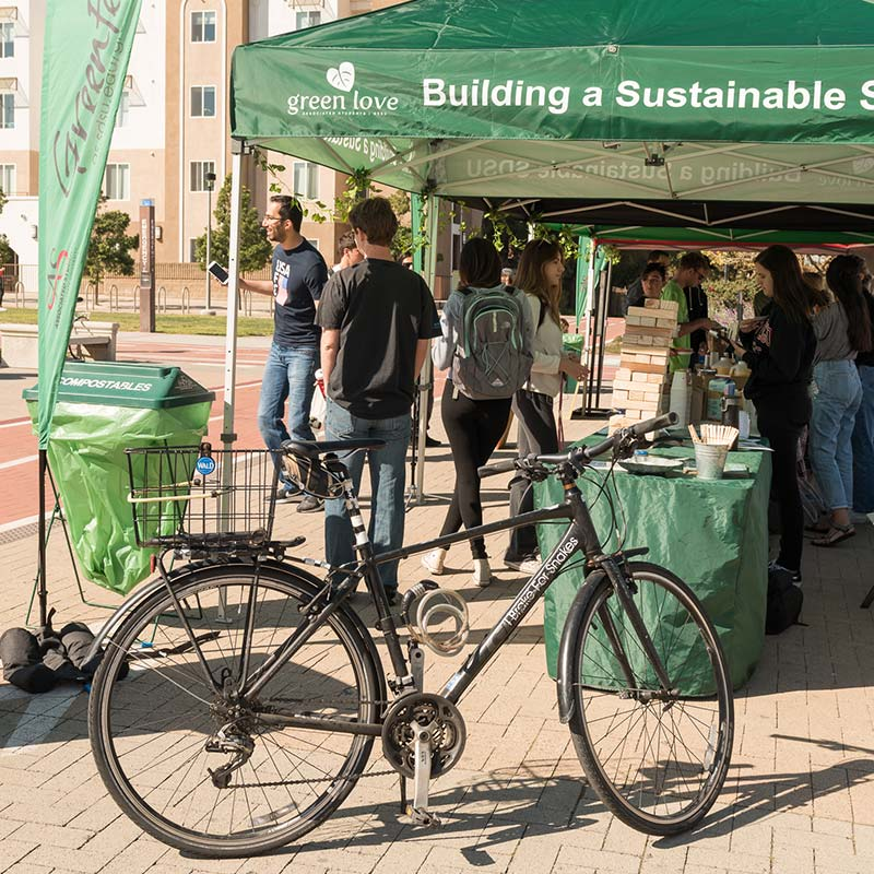 Bicycle at a GreenFest Event