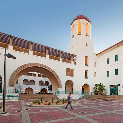 Conrad Prebys Aztec Student Union building