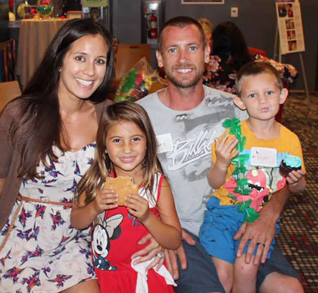 Lauren Hooley With Daughter Kaila Husband Joey Son Ryder