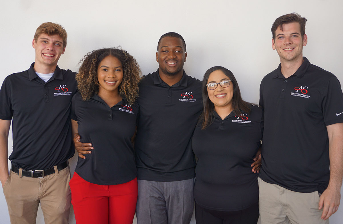 Five Executive Officers of Associated Students?2020-01-27