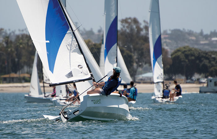 New Sailboats for MBAC