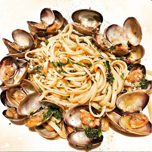 Manila Clam Linguine from King's Fish House