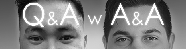 A&A Logo , Anthony & Andrew