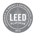LEED Platinum-certified Logo