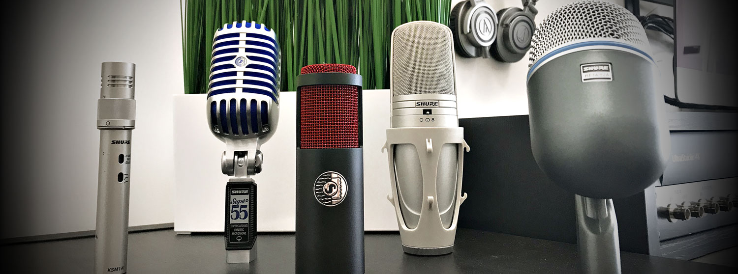 Media Studio Microphones