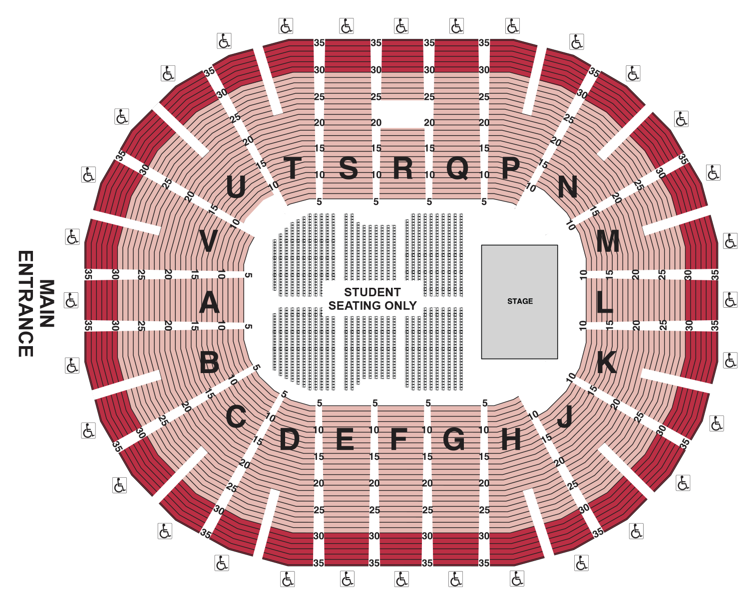 Commencement Seating Chart